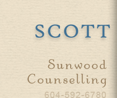 Title: Scott Harrison, MA, Registered Clinical Counsellor